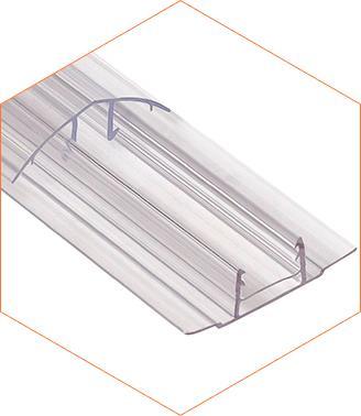 Профиль разъемный HPC 16 мм крышка
