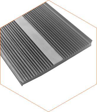 Резина уплотнительная нижняя широкая для поликарбоната