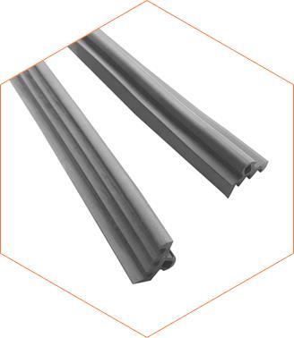 Резина уплотнительная верхняя узкая для поликарбоната