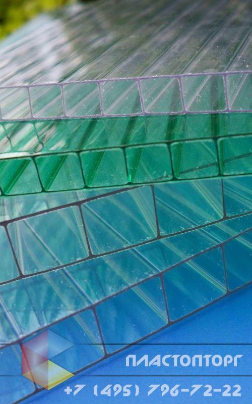 Сотовый поликарбонат 16 мм структура 3R фото