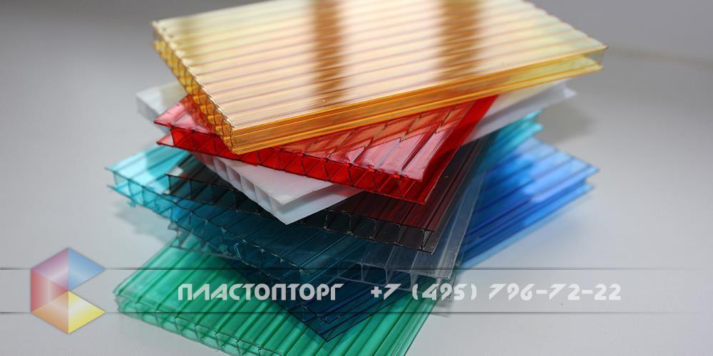 Сотовый поликарбонат фотография 6 мм