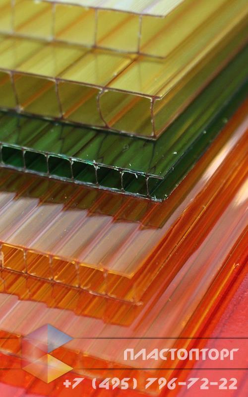 Сотовый поликарбонат 8 мм ячеистая структура