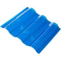Профилированный поликарбонат синий